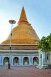 Phra Pathom Chedi, pagoda in Thailand. Stock Photos