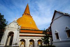 Phra Pathom Chedi Sanctuary. Is a vital part of Thailand Royalty Free Stock Photo