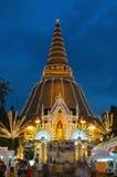 Phra Pathom Chedi, Tailandia. Fotografie Stock Libere da Diritti