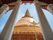 Phra Pathom Chedi Royalty Free Stock Image