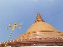 Phra Pathom Chedi temple in Nakhon Pathom Province, Thailand Royalty Free Stock Photo