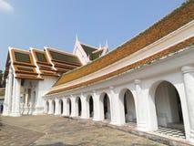 Phra Pathom Chedi temple in Nakhon Pathom Province, Thailand Royalty Free Stock Photos