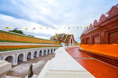 Phra Pathom Chedi temple in Nakhon Pathom Province, Thailand. Stock Photo