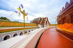 Phra Pathom Chedi temple in Nakhon Pathom Province, Thailand. Stock Images