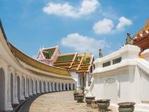 Phra Pathom Chedi temple Stock Images