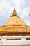 Phra Pathom Chedi temple Stock Image