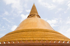 Phra Pathom Chedi temple Royalty Free Stock Photos