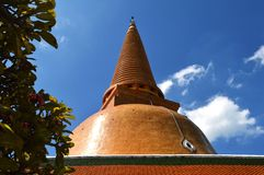Phra Pathom Chedi, Thailand Royalty Free Stock Photography