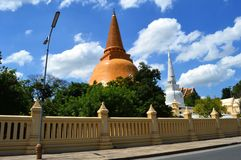 Phra Pathom Chedi, Thailand Royalty Free Stock Photo