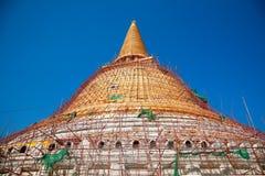 Phra Pathom Chedi Wat Suan Dok Nakhon Pathom    Thailand Lizenzfreies Stockfoto