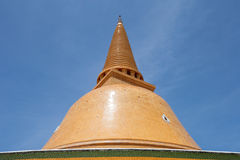 Phra Pathom Jedi in Nakornphatom, Thailand Royalty-vrije Stock Afbeeldingen