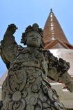 Phra Pathom Nakhon巴吞,泰国Chedi  图库摄影