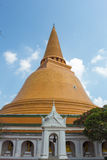 Phra Pathom pagoda Zdjęcie Stock