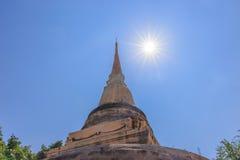 Phra Pathommachedi Stockbild