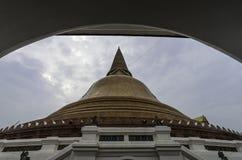 Phra Pathommachedi Fotografia de Stock