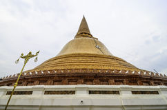 Phra Pathommachedi Imagem de Stock