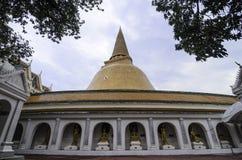 Phra Pathommachedi Imagem de Stock Royalty Free