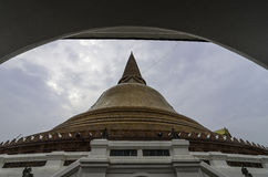 Phra Pathommachedi. Or Phra Pathom Chedi Stock Photography