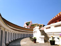 Phra Pathommachedi,  Wat Phra Pathommachedi Ratcha Wora Maha Wihan, Thailand. Phra Pathommachedi, Wat Phra Pathommachedi Ratcha Wora Maha Wihan, Thailand, Clean Royalty Free Stock Photo