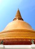 Phra Pathommachedi,  Wat Phra Pathommachedi Ratcha Wora Maha Wihan, Thailand. Phra Pathommachedi, Wat Phra Pathommachedi Ratcha Wora Maha Wihan, Thailand, Thai Royalty Free Stock Photography
