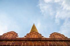 Phra Patom Jedi royaltyfri bild
