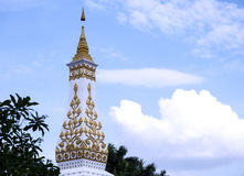Phra That Phanom Pagoda Simulate Royalty Free Stock Image