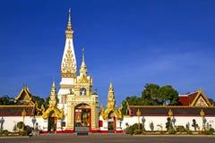 Phra That Phanom whit  sky Stock Photo