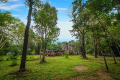 Phra That Phu Pek, an ancient temple in Sakon Nakhon Province, in the Isan region of Thailand. This ancient Khmer ruin was built f. Phra That Phu Pek, an ancient Stock Photos