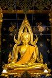 Phra Phut Chin Rat no templo de Wat Phra Sri Rattana Mahathat Fotografia de Stock Royalty Free