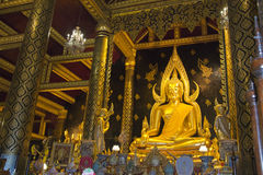 Phra phuttha chinnarat 免版税库存图片