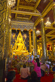 Phra phuttha chinnarat 库存图片