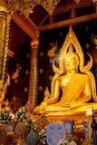 Phra Phuttha Chinnarat Buddha Image at Wat Phra Si Rattana Mahathat Temple in Phitsanulok, Thailand Royalty Free Stock Photo