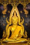 Phra Phuttha Chinnarat, héritage antique thaïlandais et considéré en tant qu'un du chiffre le plus beau de Bouddha en Thaïlande,  images stock