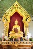 Phra Phuttha Nirantarai på den Phra Phrathom chedien i Thailand Arkivfoto