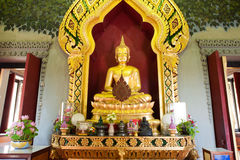 Phra Phuttha Nirantarai at Phra Phrathom chedi in Thailand. Stock Photo