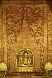 Phra Phuttha Sihing Buddha importante in Tailandia fotografia stock