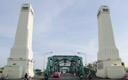 The Phra Phuttha Yodfa Bridge Royalty Free Stock Images