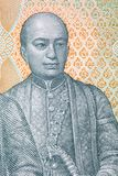Phra Phutthaloetla Naphalai Rama II portrait. From Thai money royalty free stock images
