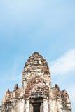 phra prang山姆yod Lopburi,泰国 宗教大厦 库存照片
