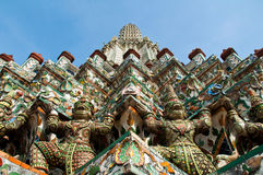 Phra Prang del templo de Wat Arun Imagen de archivo libre de regalías