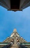 Phra Prang do templo de Wat Arun imagem de stock