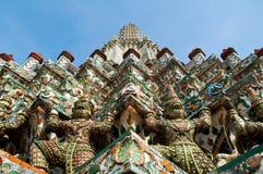 Phra Prang do templo de Wat Arun imagem de stock royalty free