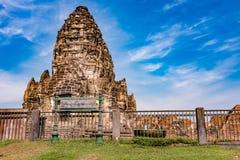 Phra Prang Sam Yod/ένας αρχαίος ναός Στοκ εικόνα με δικαίωμα ελεύθερης χρήσης