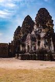 Phra Prang Sam Yod/ein alter Tempel Stockbilder