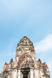 Phra Prang Sam Yod Lopburi, Thailand Religiöses Gebäude Stockfotos