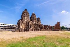 Phra Prang Sam Yod . Lopburi, Thailand. Religious buildings Royalty Free Stock Images