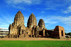 Phra Prang Sam Yod. Lopburi,Thailand.Religious bulidings constructed by the ancient Khmer art Stock Photography