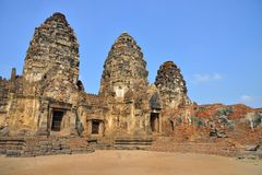 Phra Prang Sam Yod Royalty Free Stock Photos