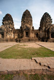 Phra Prang Sam Yod tempel, Thailand Royaltyfria Foton