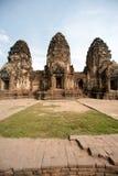 Phra Prang Sam Yod tempel, Thailand Royaltyfria Bilder
